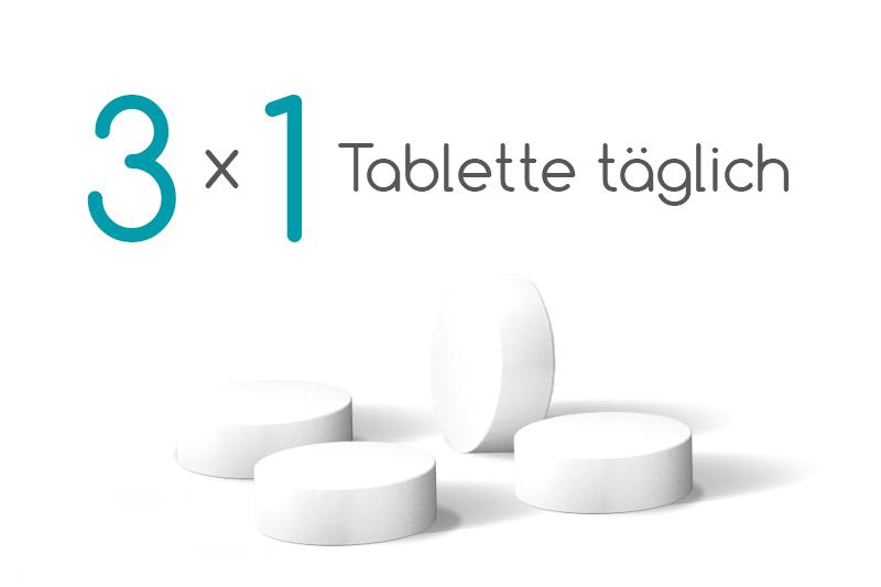 Einnahme Revoten: 3 Mal Täglich 1 Tablette